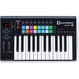 LAUNCHKEY 25MK3 NOVATION CONTROLADOR MIDI