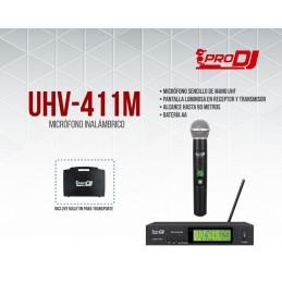 UHV411M MICROFONO INALAMBRICO PRODJ VARIABL