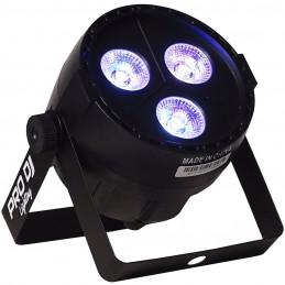 MINIPAR35UV 3 LED*5W RGBW-UV (5 EN 1) 20W