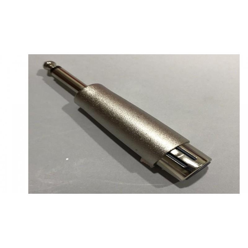 MRC628 ADAPTADOR XLR HEMBRA A PLUG DE 1/4