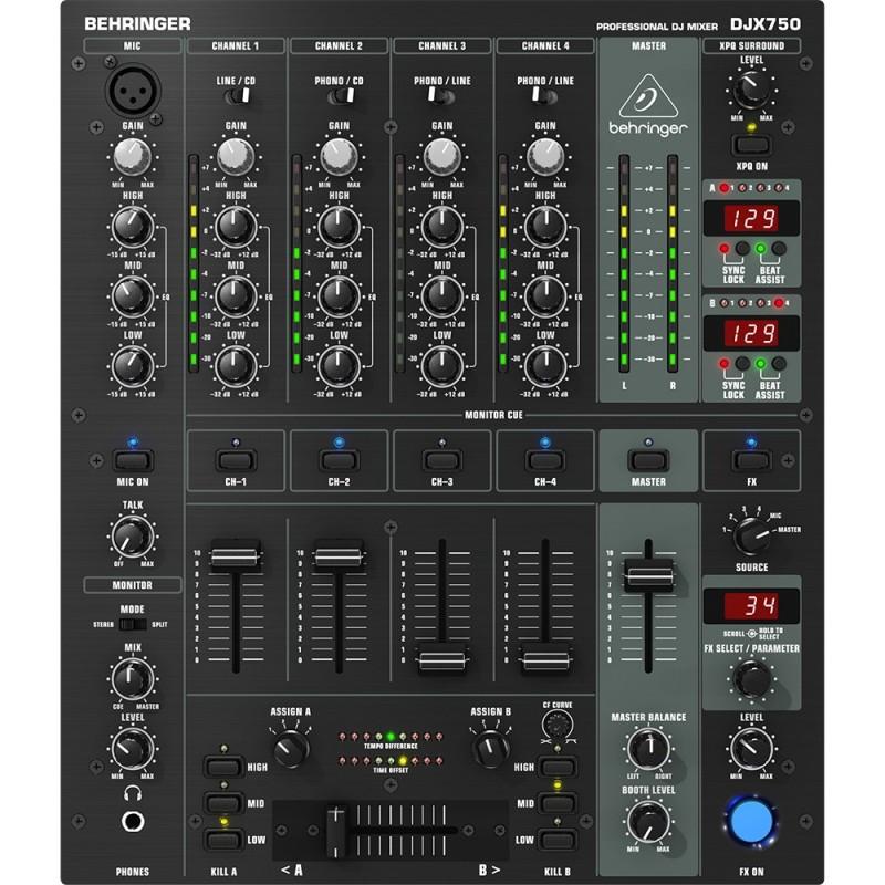 djx 650 mixer DJ BHERINGER