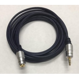 MC2252F EXTENSION PARA AUDIFONO MACHO HEMBRA 3,5MM 1,8MTS