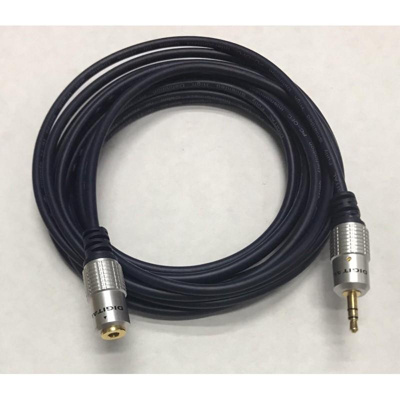 MC2252F EXTENSION PARA AUDIFONO MACHO HEMBRA 3,5MM 1,8MTS