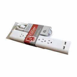 MULTITOMA 6 SALIDAS ASC 2-USB MAGOM