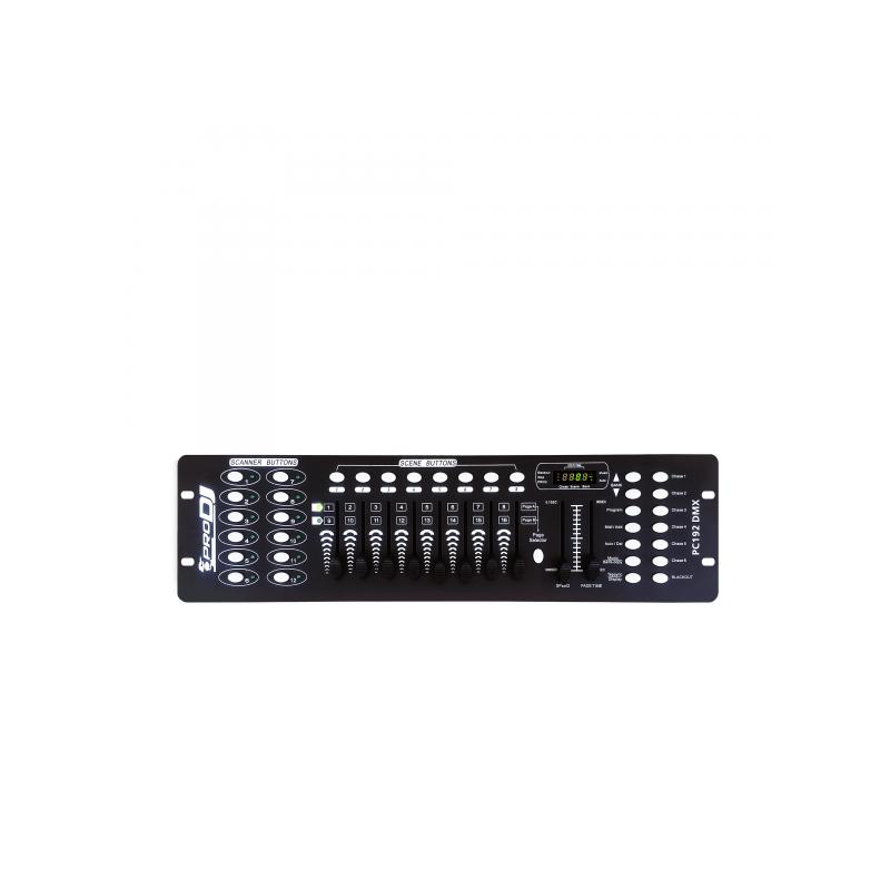 PC192DMX CONTROLADOR PRO DJ LIGTHING
