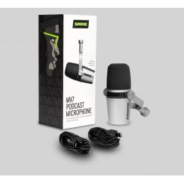 MV7 SHURE MICROFONO USB XLR